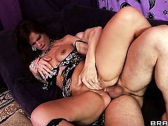Erik Everhard has unthinkable anal sex with Syren De Mer after she takes it deep in her mouth