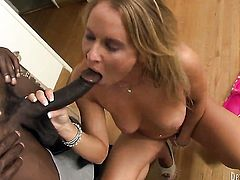 Wesley Pipes gets turned on by Experienced minx Aria Austin and then drills her mouth