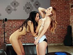 Karlie and Layla are two hot chicks, who know how to turn themselves and the viewers on with a lot of action. Watch them suck tit and lick beautiful ass, just so they can get wet in their cunts. Do you ever feel like masturbating to two hot chicks? If you do, then these are the girls for you. They are hot and dripping.