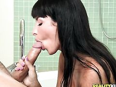 Mick Blue has a great time fucking dangerously seductive Anissa Kates mouth