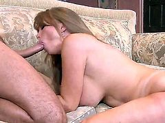 Big titted mature slut Darla Crane loves anal sex