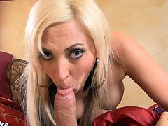 Eat Sleep Porn brings you a hell of a free porn video where oyu can see how the busty and tattooed blonde babe Skylar Price gets fucked pov style after sucking some cock.
