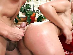 Bibi Fox gets slam fucked to orgasm by George Uhl in steamy anal action