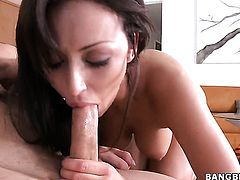 Breanne Benson is a handjiob addict and cant live a day without jerking cock with her hands