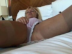 horny mature tease