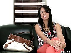 Nina Lopez gives unforgettable mouth job hard dicked guy
