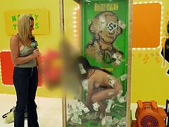 Do you enjoy watching reality kinky shows with sexy content? In this episode, you'll get to see a brunette covering her naked body with dollars. A guy met in the street, says
