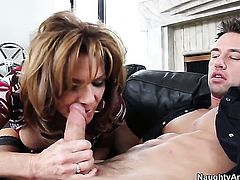 Johnny Castle loves amazing DeauxmaS ass and bangs her as hard as possible