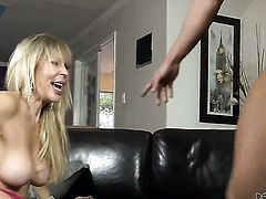 Will Powers makes his erect tool disappear in amazing Tiffany Taylor Bs anal hole before headjob