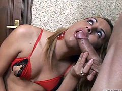 Sexy tranny Nahara, knows it's pretty easy to get a sexy boy for a fuck. All she needs to do, is show off her hot body and her hard dick, and the guy would be all ready to drill her. Not just that, this slutty tranny gets him to suck her cock too. And what does she do in return? Suck the man's penis, of course. And then get fucked in her very tight ass hole.