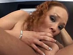 Young Redhead Takes Brutal Anal Pounding