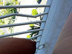 Fucking Wife on Porch