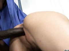 Cytherea opens her mouth invitingly in cock sucking action with Sean Michaels