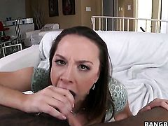 Chanel Preston does some interracial action