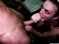 Tiffany Tyler with phat butt and hot guy are in the mood for fucking