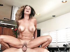 Johnny Sins has fantastic sex with Nadia Styles