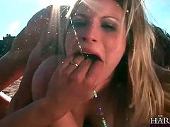 DP in the dirt with a dirty whore
