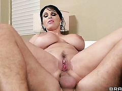 Holly Halston gets a cock up her ass