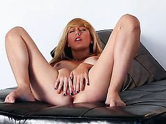 Tattoos Brett Rossi with massive jugs and smooth bush cant stop touching her wet spot