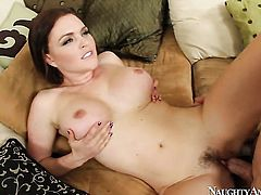 Jordan Ash inserts his fuck stick in extremely horny Krissy Lynns fuck hole