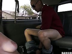 Bang brothers bus gets a Latina