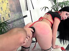 Omar Galanti loves hot Izobella ClarkS ass way and bangs her as hard as possible before throat job