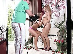 Stacy Silver licking Silvia Saints pussy like it aint no thing in lesbian action