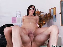 Mark Wood gets seduced into fucking by Hope Howell