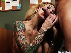 Alan Stafford uses his rock solid ram rod to bring Sarah Jessie to the height of pleasure