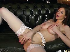 Big natural tits fucked by Danny D