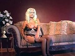 Summer blonde Malibu invites you to do love to heras she teases, touches, toys and seductively undresses for you her Sexy bra, Smoking Horny stockings and moist thongs reveal Amazing tits, an Sleaze butt tunnel and A Tempting pink pussy yearning to sperm during the ultimate affair.