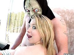 Sunny Lane with big bottom having lesbian fun with lesbian Brynn Tyler