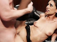 Mark Wood inserts his worm in hot Lyla Storms slit