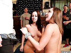 Jada Stevens, Remy LaCroix, Dillion Harper party!