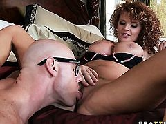 Johnny Sins loves always wet warm love hole of Joslyn James with big melons