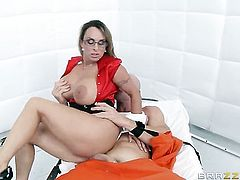 Holly Halston is a prison doctor