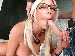 Breathtakingly sexy doll Puma Swede is a facial cum slut