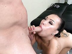 Gia Grace proves that she can fuck like no other in interracial porn action