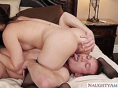 Small tits Casey Calvert cheats her husband