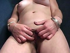 Amateur ho Nikki sucking dick via gloryhole and fingers pussy