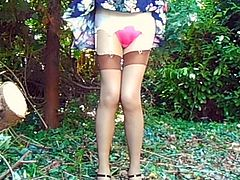 Garden Knicker Flash