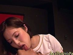 Asian masseuse strokes