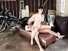 Eva Karera shows off her sexy body as she gets pumped good and hard by Johnny Castle