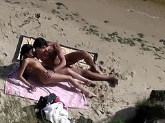 Fucked on beach 1