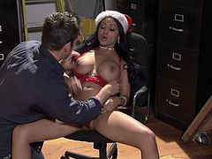 Priya Rai is actually Ms Santa. Mystery solved, we can all go home But, just a sec, this Hindu bimbo is going to award the boy who was the best of the best with her warm beaver