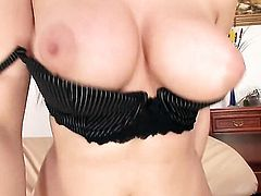 Lucie Sage with huge breasts is ready to suck guys rock hard love wand day and night