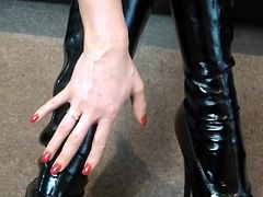 Blackmailed By Latex Goddess