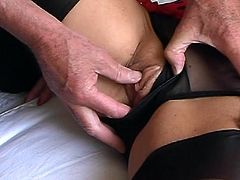 FF stockings and sheer panties Pt2