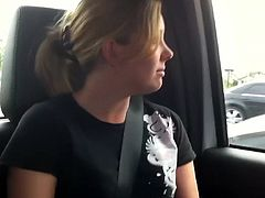 Miss Marie is 1 Hot blonde slut. She likes to suck dick, everywhere and anywhere. inside that Sleaze Apprentice scene, she touches the lucky guy during the car ride.