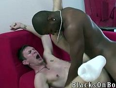 Luke Cross Makes Quick Cash By Fucking A Black Guy